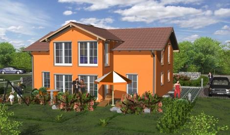 Ingenieurb ro dipl ing fh stephen schneider 3d modelle for Einfamilienhaus modelle